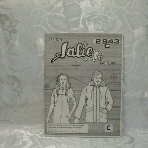 Sewing Pattern Jalie 2943C Lined Jacket Detachable